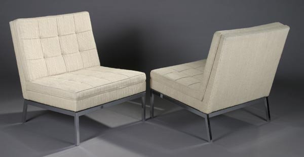 3: Florence Knoll Lounge Chairs Knoll Model 65