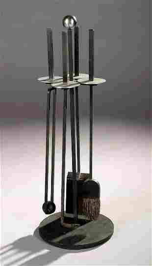 Mid Century Modern Fire tool set 1955 Eames era