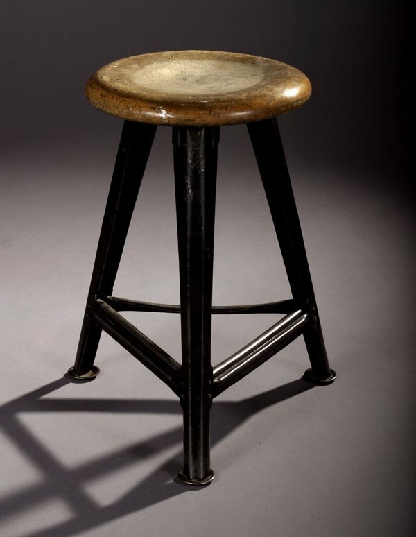 6: Bauhaus stool 1930s