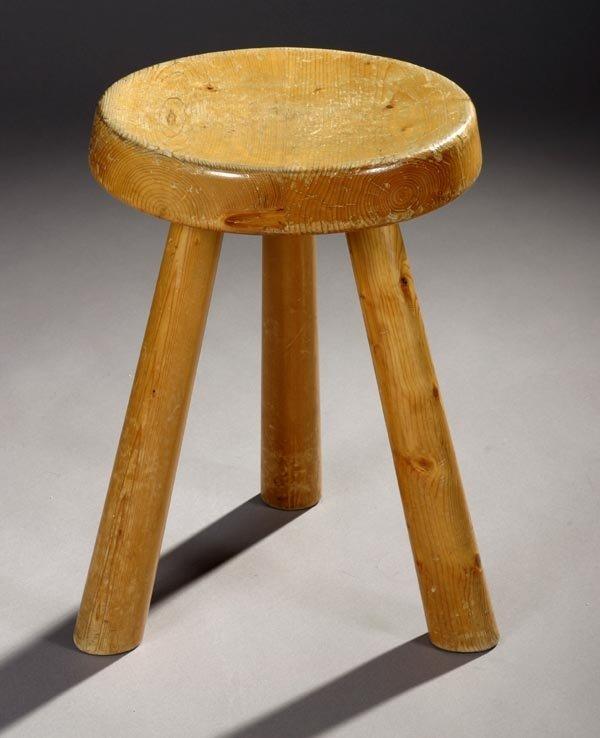 12: Charlotte Perriand Milk Stool, Galerie Steph Simon