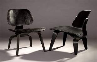 Charles & Ray Eames LCW chairs, Herman Miller