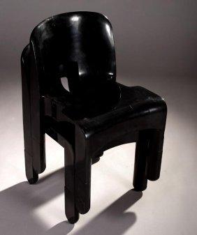 18: Joe Colombo ABS chairs, Kartell