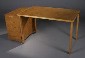 22: Alvar Aalto desk cabinet, artek