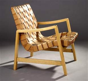 Jens Risom lounge chair, Knoll