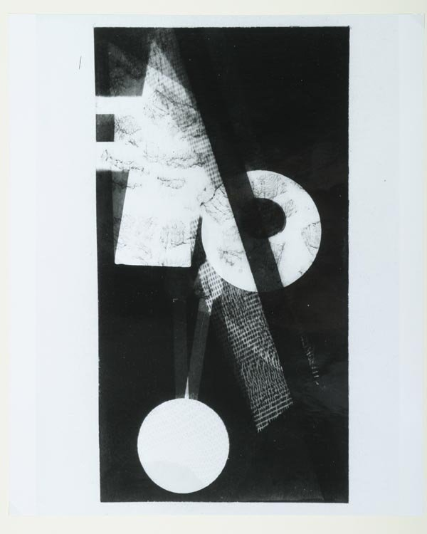 225: Laszlo Moholy-Nagy Photograms, Bauhaus, Wingler - 2