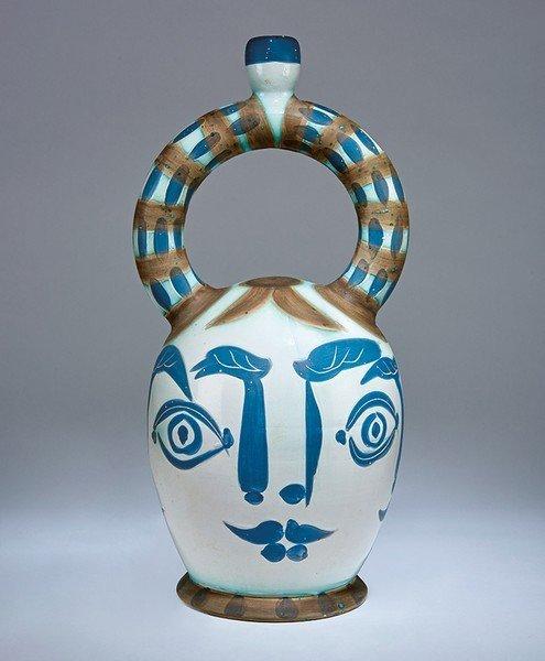 Pablo Picasso, Aztec Vase with Four Faces (R.401)