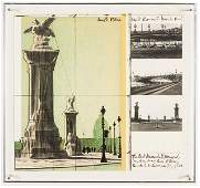 Christo The Pont Alexandre III Wrapped