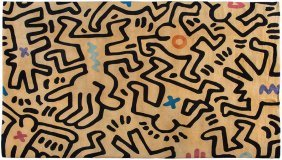 After Keith Haring, Untitled
