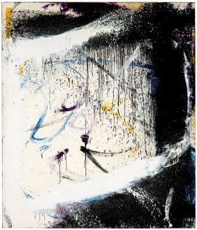 Norman Bluhm, Black Card