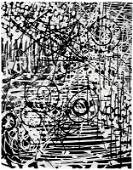 Gordon Onslow Ford, Abstraction in Black and White