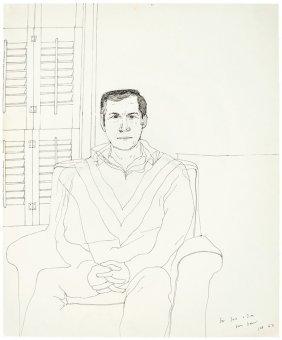 David Hockney, Portrait Of Jack Larson