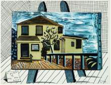 David Hockney, A picture of My New House
