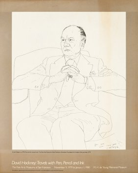 David Hockney, Travels With Pen, Pencil And Ink