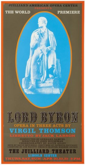 Robert Indiana, Lord Byron