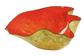 Dale Chihuly, Red Orange Macchia