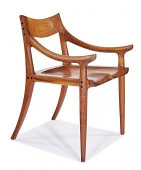 Sam Maloof, Sculpted Armchair