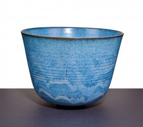 Gertrud & Otto Natzler, Bowl With Lip