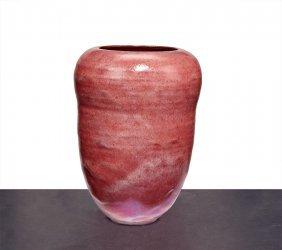 Gertrud & Otto Natzler, Double Curved Vase Form