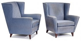 Harvey Probber, Lounge Armchairs (2)