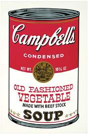 Andy Warhol, Old Fashioned Vegetable
