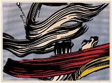Roy  Lichtenstein, Brushstrokes