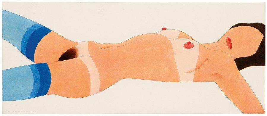 Tom  Wesselmann, Stockinged Nude, Edition #2