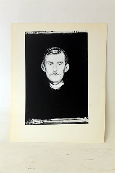 Untitled Original Lithograph by Artist Munch.