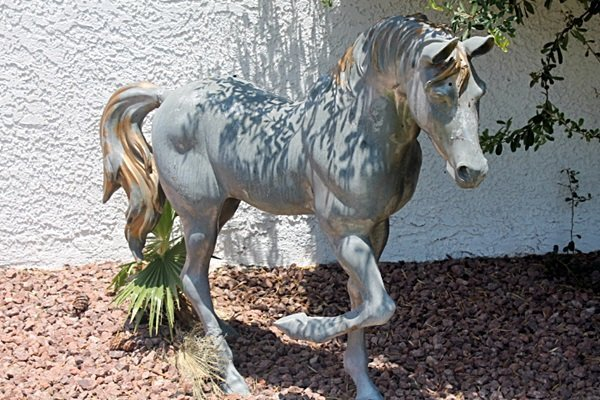 Large Bronze Sculpture- Big Horse by Bayre