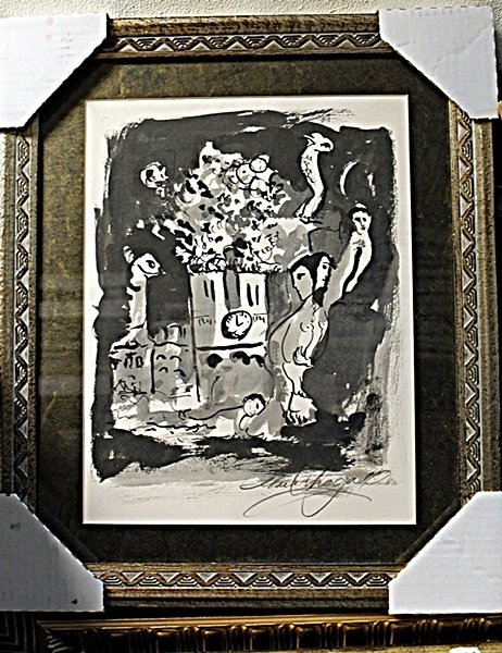 CHAGALL ORIGINAL LITHIOGRAPH SIGNED AR5903
