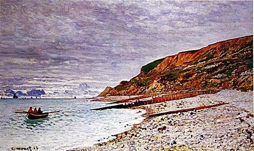 La Pointe de la Heve by Monet