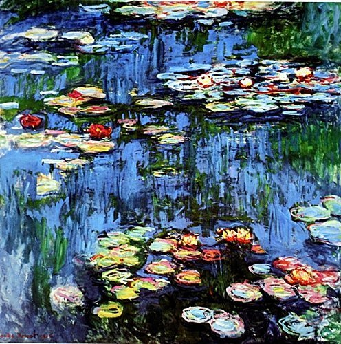 """""""Water Lilies"""" by Monet"""