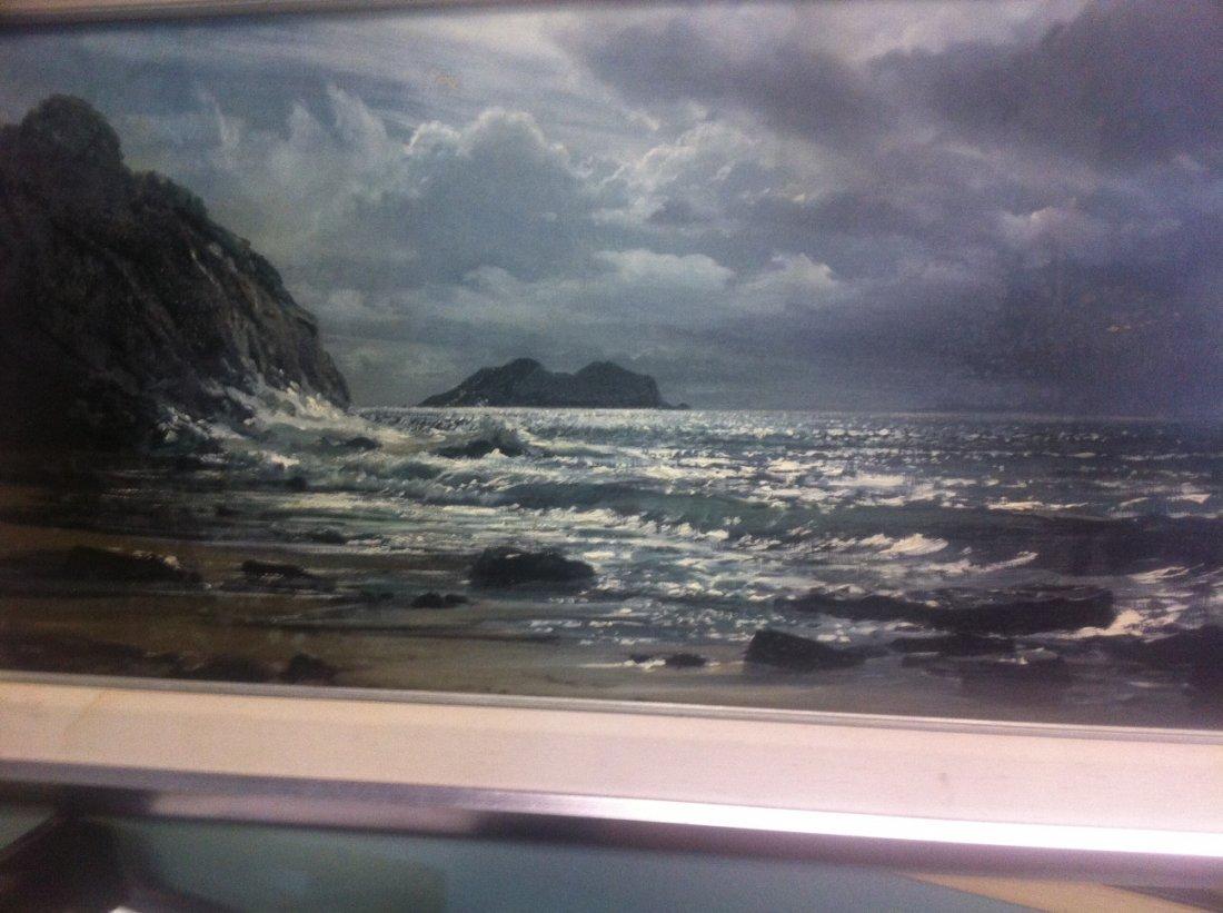 Peter Ellenshaw oil on canvas