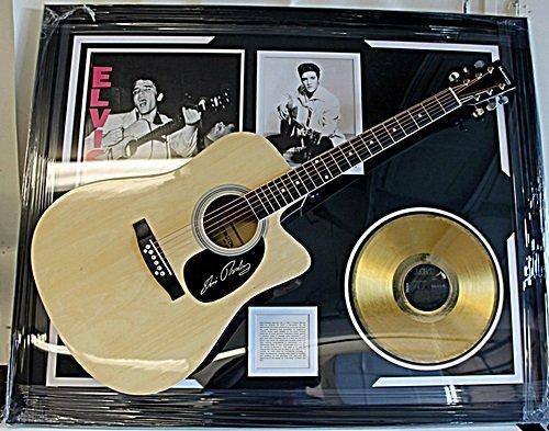 Priceless Elvis Presley Signed Guitar & Memorabilia