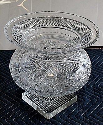 Beautiful Turkey Crystal Vase AR4110