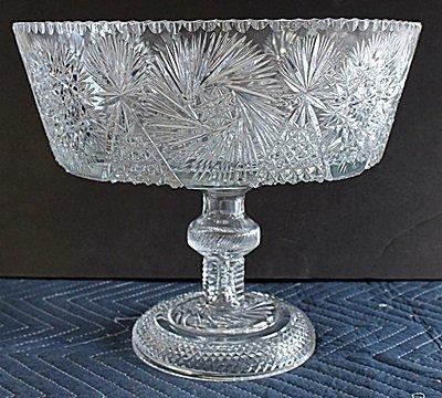 Fancy Turkey Crystal Punch Bowl AR41123