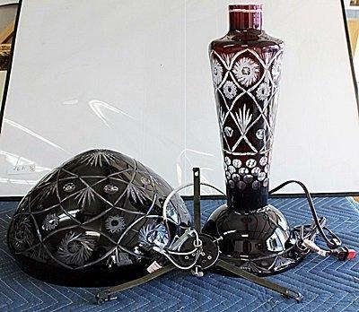 Fancy Turkey Crystal Glass Lamp AR4115