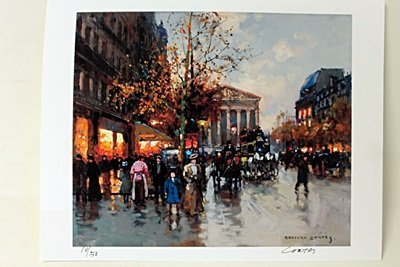 "Limited Edition "" Boulevard de la Madeleine, Fall I"" by"
