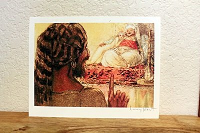 """Lithograph From """"Le Sopha"""" By Louis Icart"""