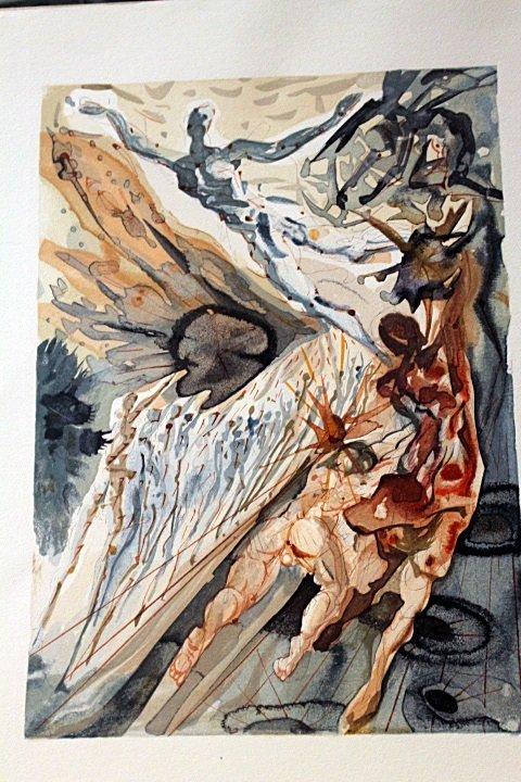 Original Salvador Dali-Purgatory 26