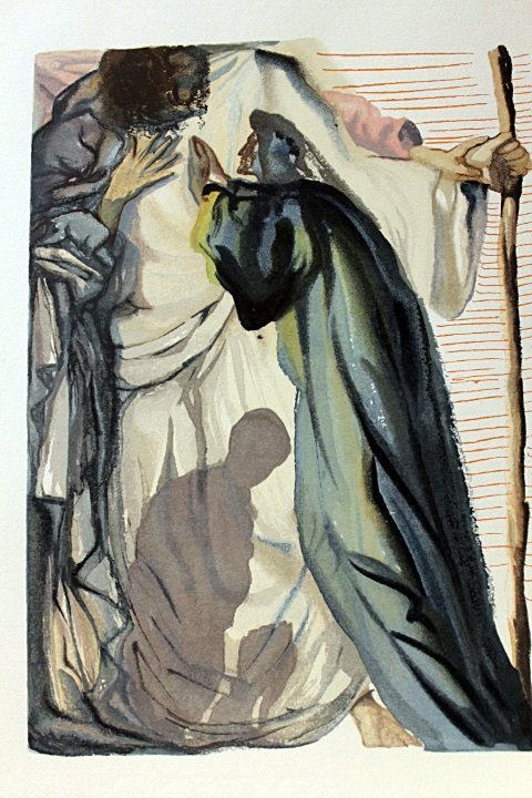 Original Salvador Dali-Purgatory 14