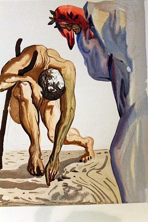 Original Salvador Dali-Purgatory 7