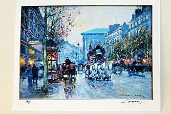 "Limited Edition "" Boulevard de la Madeleine I"" by"