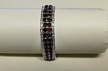 Beautiful Antique Style Garnet Bracelet
