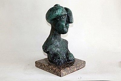 Pablo Picasso Original, limited Edition Bronze -WOMAN