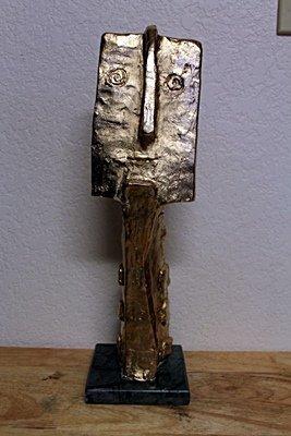 Pablo Picasso Original,   Gold limited Edition Bronze -
