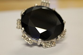 Beautiful Black/White Diamond Pendant