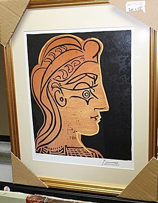 Limited Edition Picasso Untitled AR5412