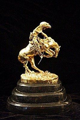 Remington Limited Edition   Gold Layered Bronze