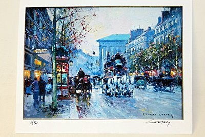 "Limited Edition "" Boulevard de la Madeleine I"" by"