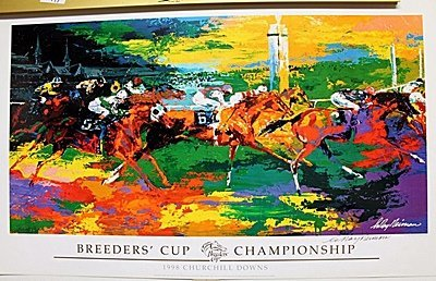 """Breeder's Cup Championship"" Double Signed By LeRoy"